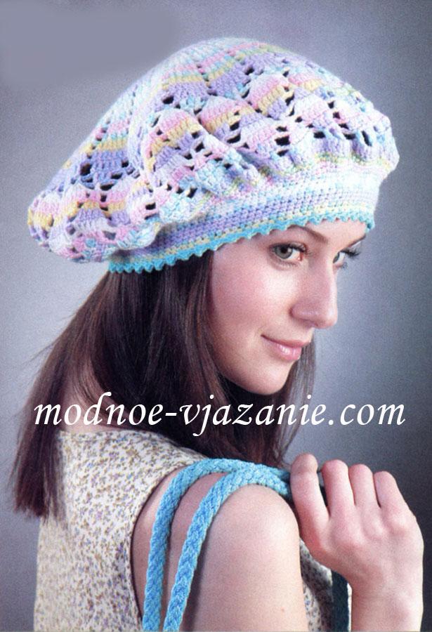 Вязаные шапки - Галерея вязания