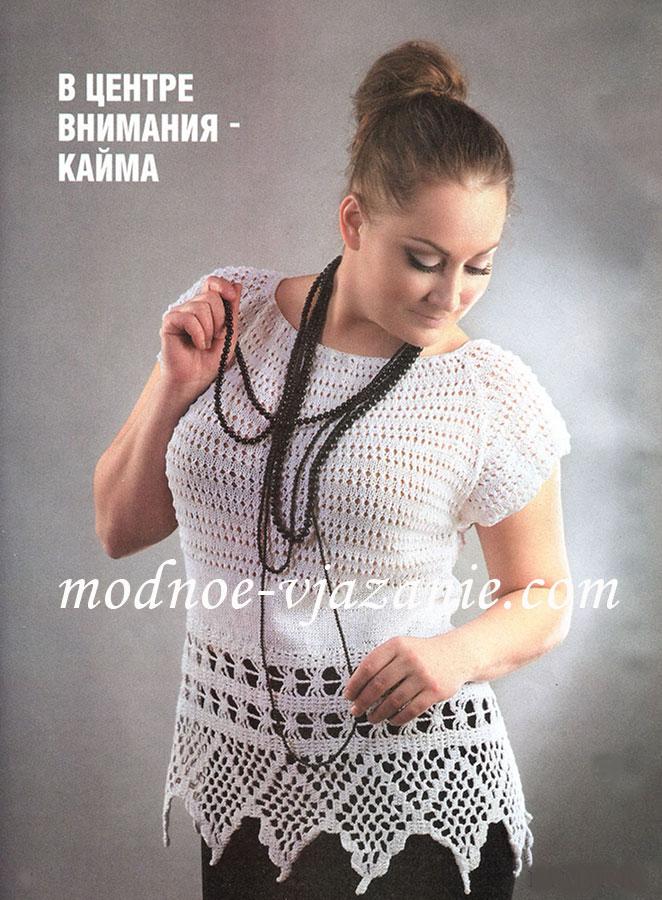 Вязание летней блузки крючком - Схемы и подробные описания. . Выложены летние легкие кофточки, ажурные болеро