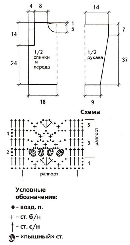 Вязанные жакеты для девочек схемы
