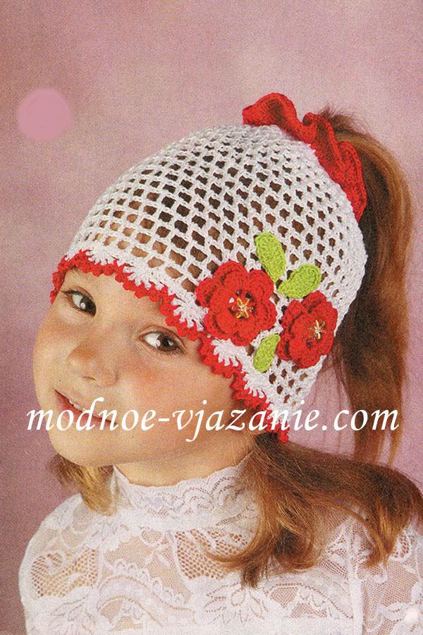 Вязание панамки для женщины
