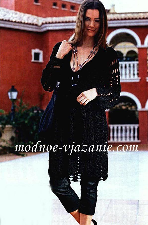 Описание: женское вязание спицами осень-зима 2012.