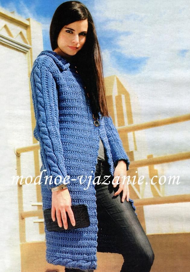 Журнал по вязанию спицами предлагает модные и... Название: Вязание для взрослых.  Спицы 12 2011 Год / месяц: 2011...