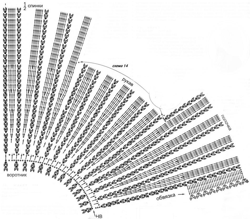 Вязание поверх вязания крючком 85