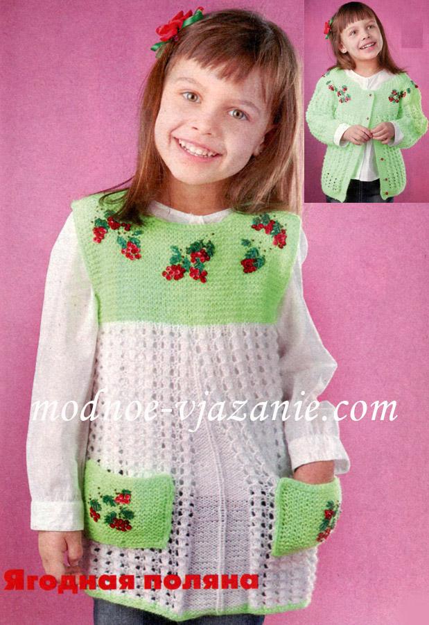 Вязание платья спицами - Будни