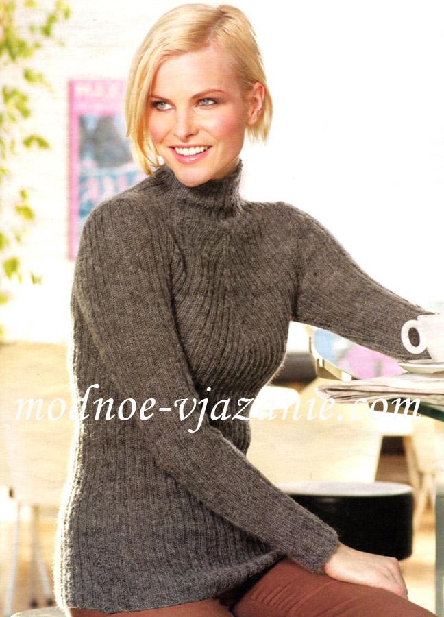 Вязаный мужской свитер модели продажа