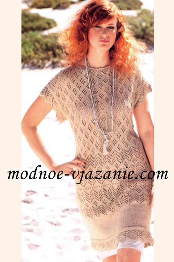 вязание спицами стильные модели и