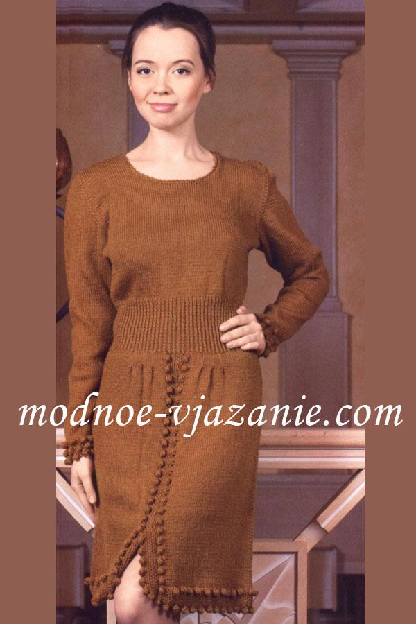 модные платья нессея | Вязание спицами для женщин