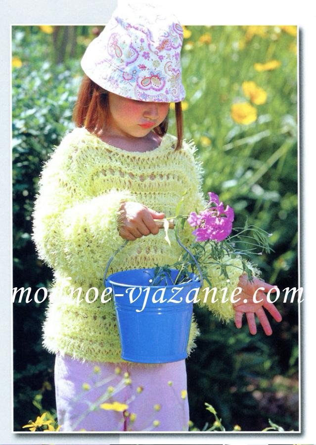 Вязание спицами для взрослых и детей.