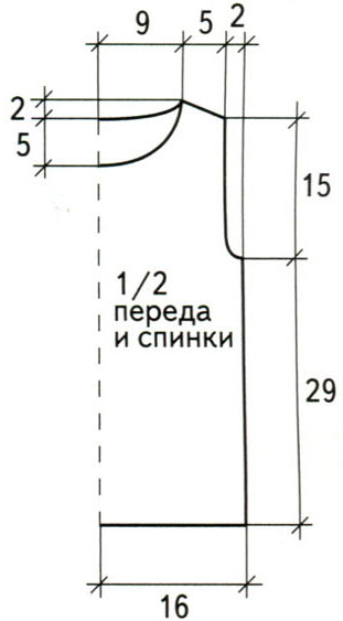 Вязание рукава крылышка на спицах
