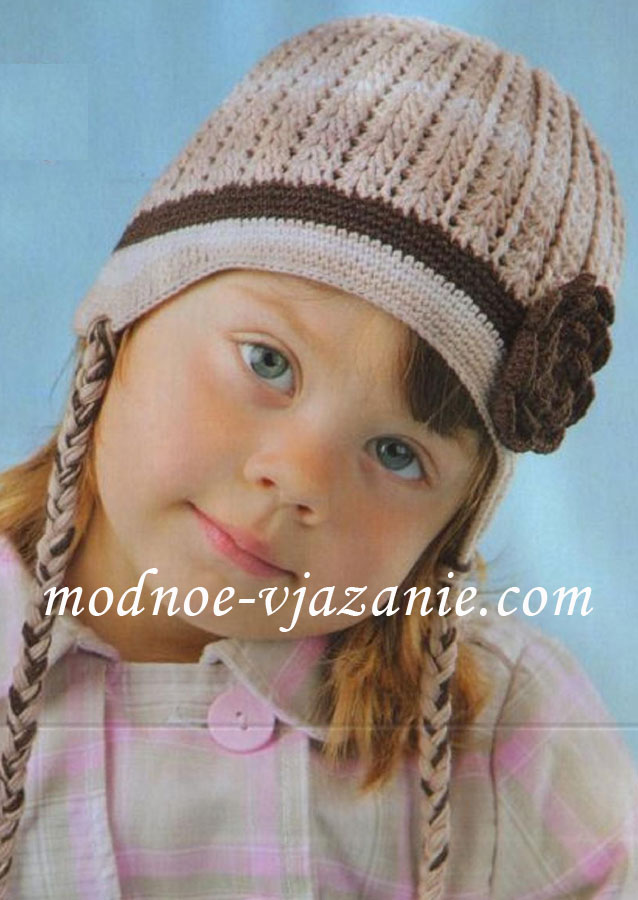 Вязание для детей и взрослых! шапочка