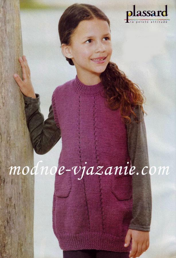 Вязание спицами элегантного женского пальто. Подробная