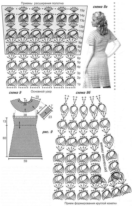 Перуанское вязание схемы крючком 57