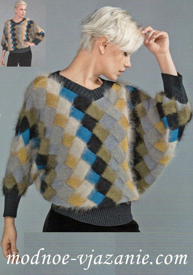 Вязаные свитера пуловеры