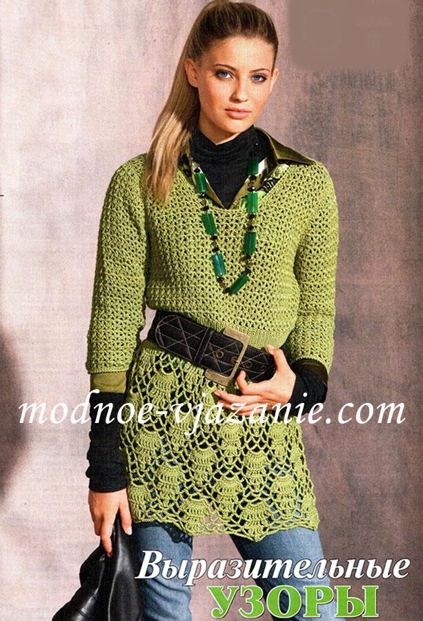 платья схемы Вязание крючком, вязание