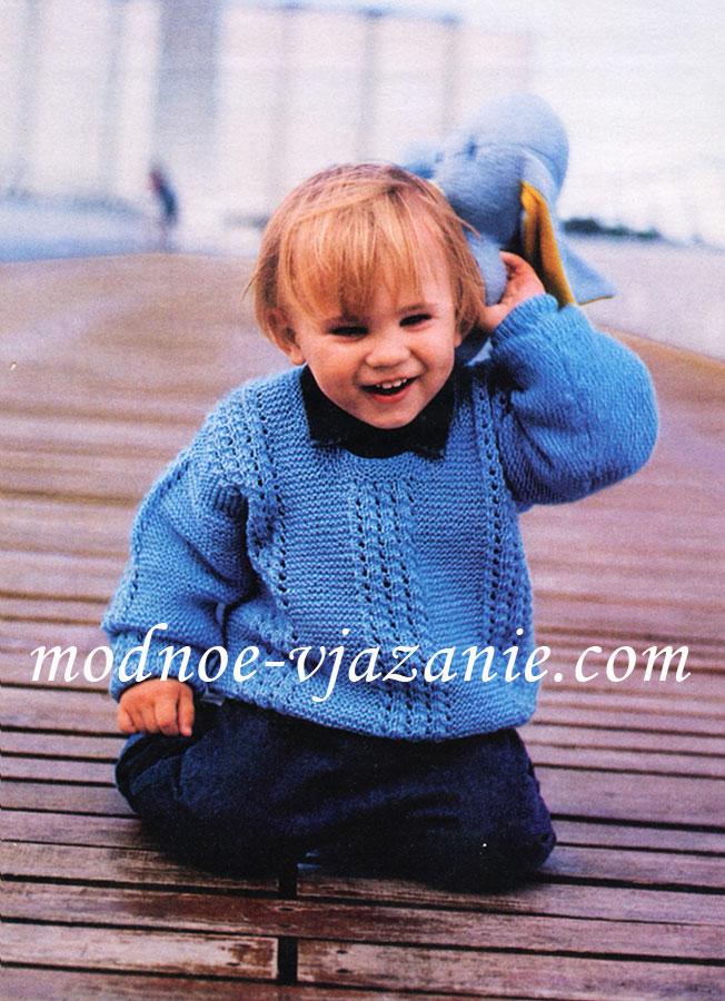Вязание спицами для детей с 5 лет 31