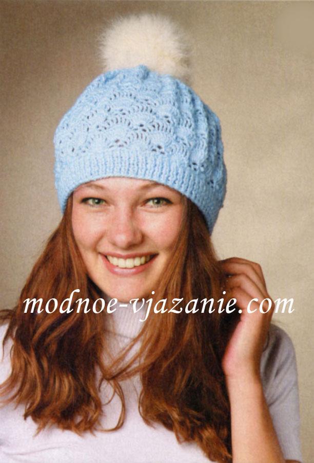 крючком шапки фото