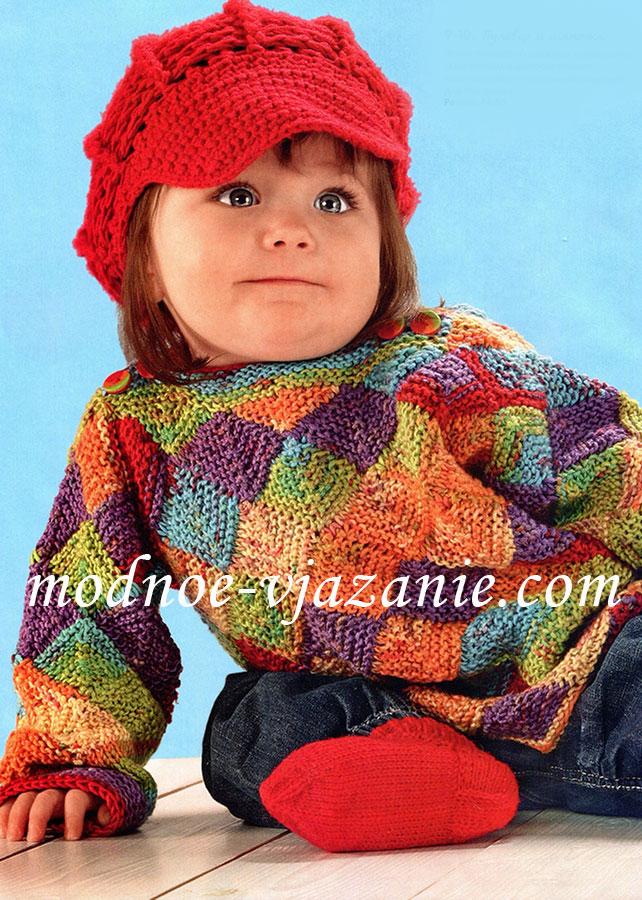 вязание для малышей видео