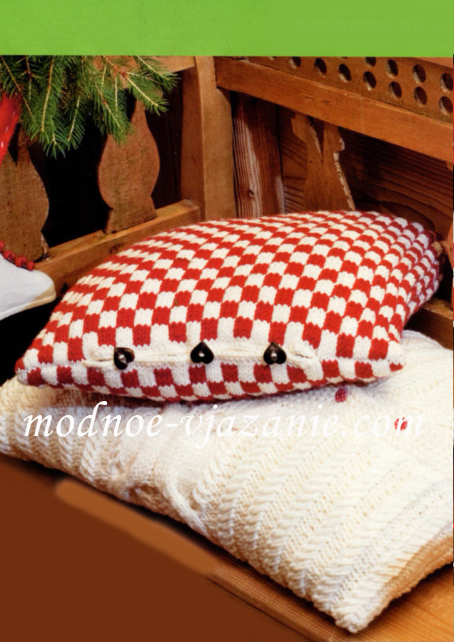 Чехлы на пуговицах для подушек