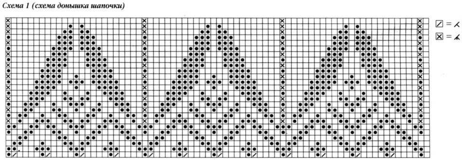 Комплект с узорами, орнамент 1.