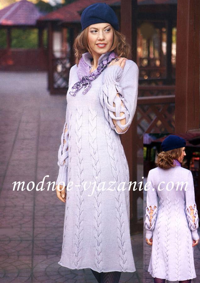 Вязание спицами для женщин 49