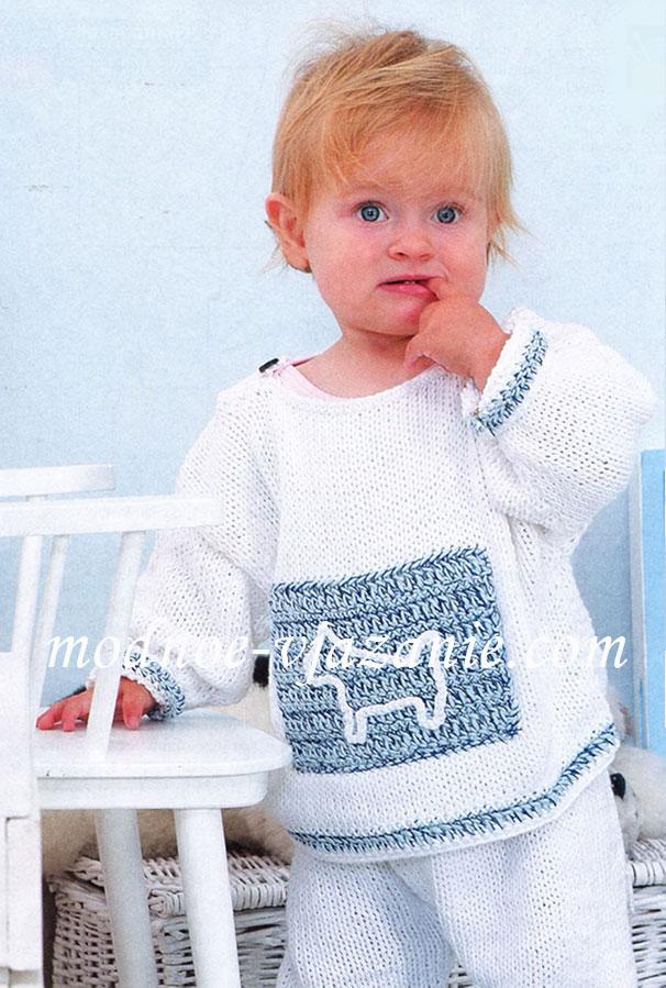 В контакте вязание для детей спицами 64