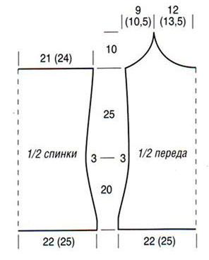 70Шелковые майки выкройка