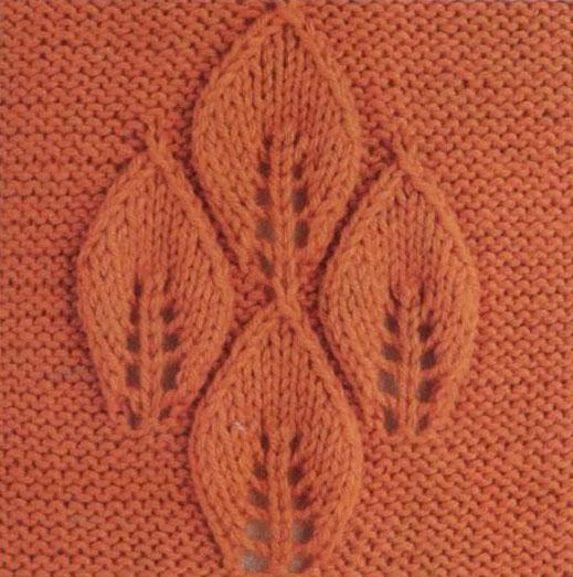 модное вязание спицами. схема