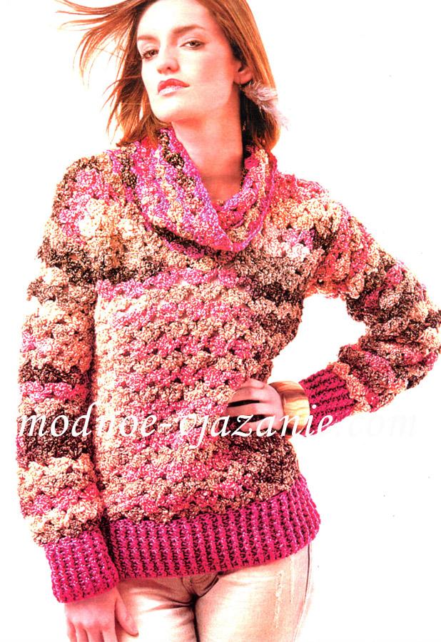 Вязание крючком для мальчиков свитер 15