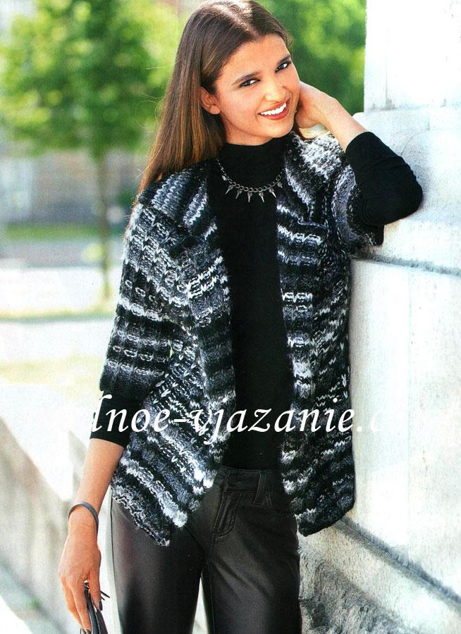 Женский свитер с рукавом реглан