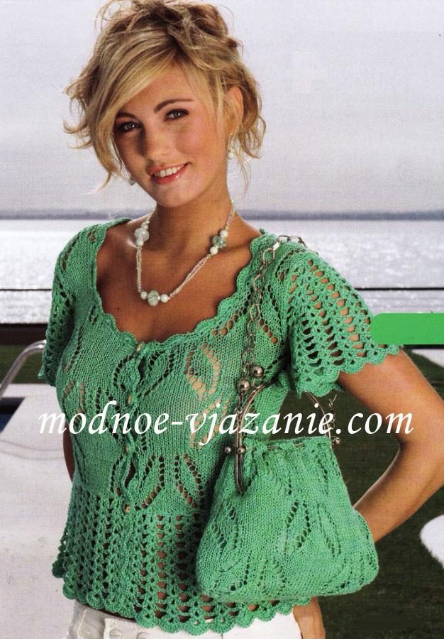 Вязание платья 17